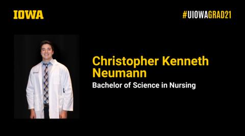 Christopher Neumann Recognition Slide