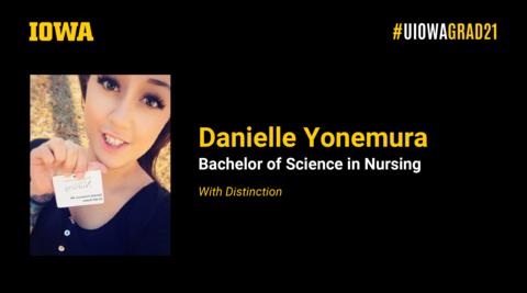 Danielle Yonemura Recognition Slide