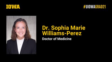 Dr. Sophia Williams-Perez Recognition Slide