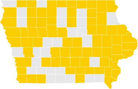 71 Iowa Counties