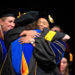 Graduate Doctoral Graduate Hug