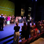 Theatre Commencement Clapping Spring 2019