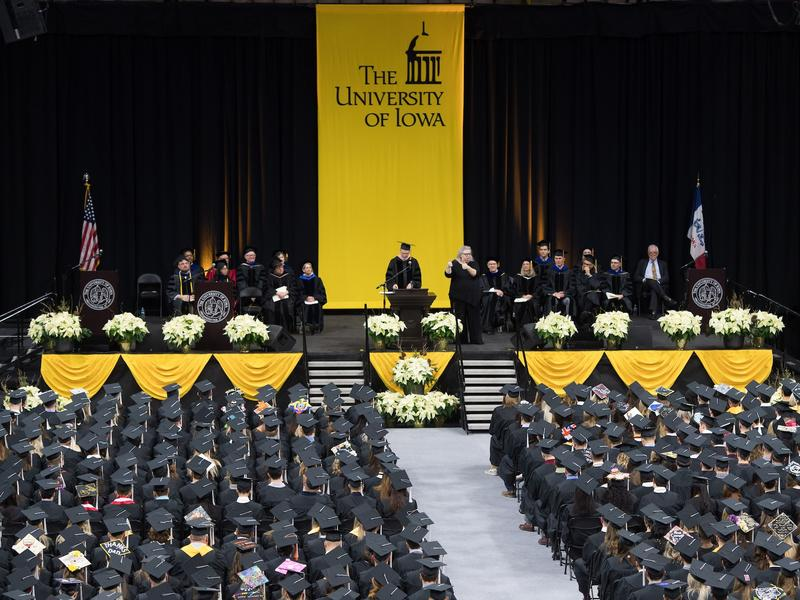 Carver Ceremony Floor and Stage