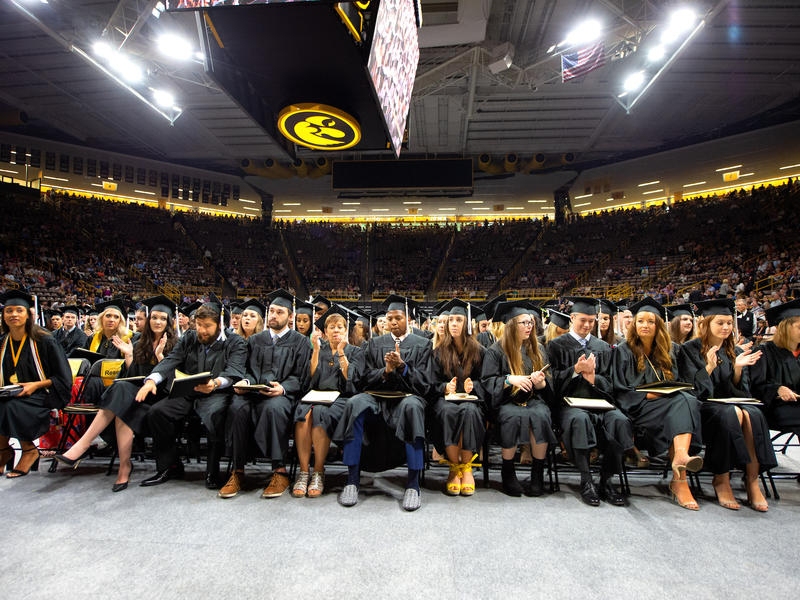 Front Row of Graduates at Carver