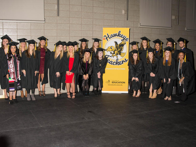 Education Graduates with Banner