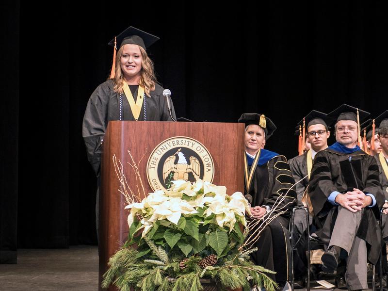College of Engineering Student Speaker