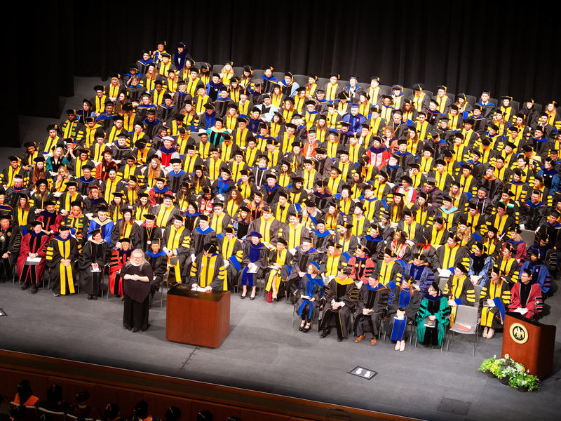 Grad College Doctoral Commencement Ceremony