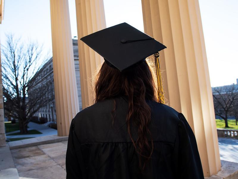 Graduate on Pentacrest