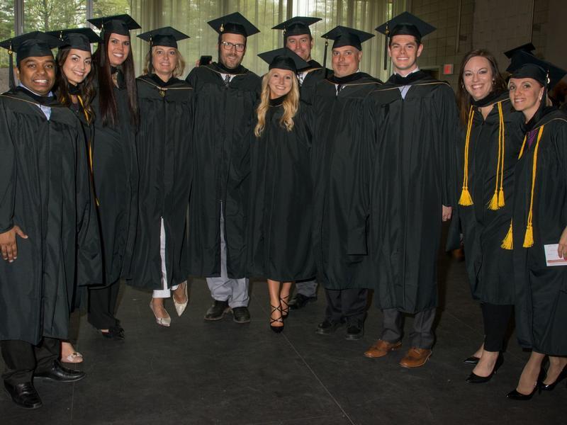 MBA Graduates Posing