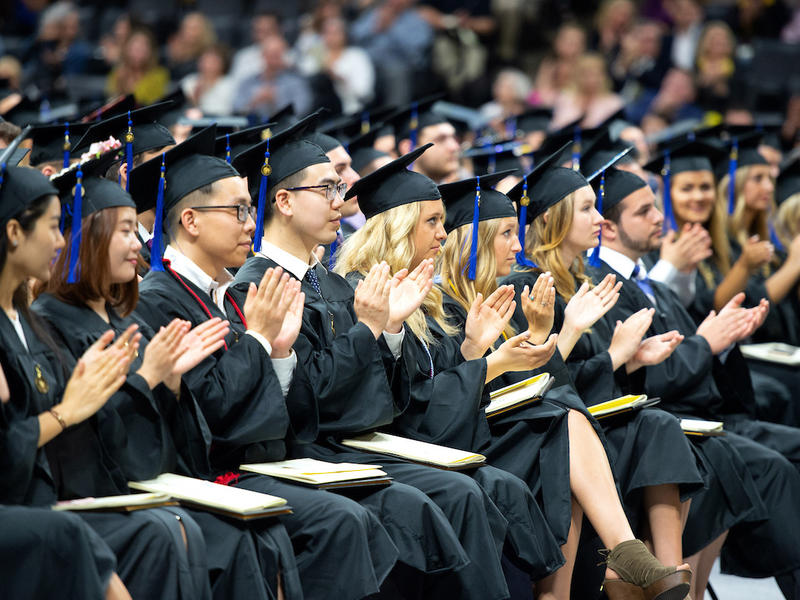 Tippie Graduates Clapping